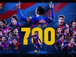 Lionel Messi 700
