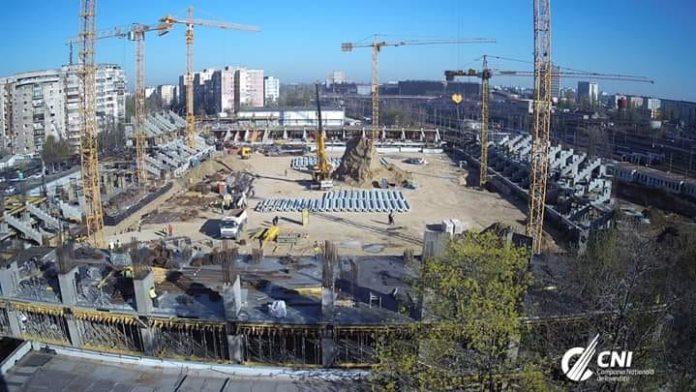 Stadion Giulesti nou, nu ca metroul din Drumul Taberei!