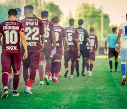 FC Rapid 1923 Turris. Clasamentul